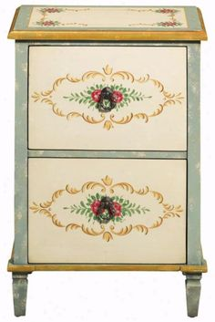 Hand-Painted File Cabinet | For the Home | Pinterest | Cabinets