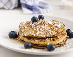 Bananine palačinke z borovnicami - Recept Low Carb, Cooking, Breakfast, Food, Blitz, Usa, Party, Basket, Morning Breakfast