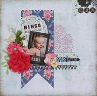 A Project by Valerie Serfozo from our Scrapbooking Gallery originally submitted 09/30/13 at 03:08 PM