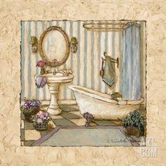 48 mejores imágenes de Cuadros baños   Bathroom, Restroom decoration ...