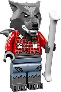 LEGO Minifigure Monster Series 14 Werewolf -Brand New- 71010 - With Bone Rare in Toys & Hobbies, Building Toys, LEGO | eBay