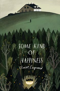 "Cover Art by Julia Sarda ""Some Kind of Happiness,"" by Claire Legrand. Book Cover Art, Book Cover Design, Book Art, Fantasy Book Covers, Art And Illustration, Book Illustrations, Creative Illustration, Illustration Children, Portrait Illustration"
