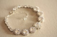 Bridal jewelry - bracelet Fiori daisy (ready to ship) from MillieIcaro