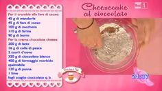Dolci dopo il tiggì: Dolci dopo il tiggì del 14 ottobre 2014: Cheesecak... Biscotti, Cheesecakes, Sweets, Desserts, Anna, Cream, Tailgate Desserts, Deserts, Gummi Candy