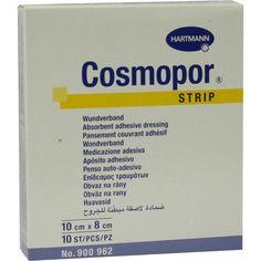 COSMOPOR Strips 8 cmx1 m:   Packungsinhalt: 1 St Pflaster PZN: 02784483 Hersteller: PAUL HARTMANN AG Preis: 4,34 EUR inkl. 19 % MwSt.…