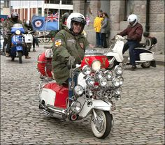 mods on scooters photos - Google Search