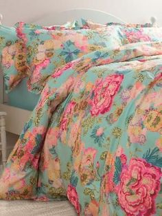 Linea by Collier Campbell Cleo Bettwäsche – House of Fraser - Linen Bedding, Bedding Sets, Bed Linens, Floral Bedding, Dorm Bedding, My New Room, My Room, Home Bedroom, Bedroom Decor