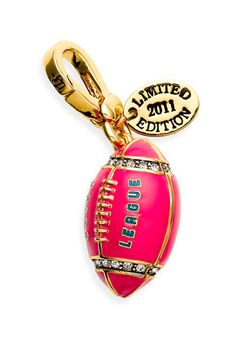 Juicy Couture Football Charm (Limited Edition): this is perfect for me!