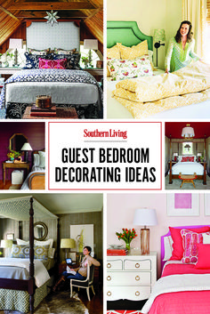 Make your guests feel comfortable and welcome with ideas from our best guest room designs.
