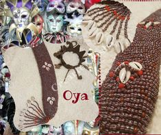 Baina para Oya #oya #yansa #orishas #santos #religion #yoruba #afrocubano #madrid #artesanía