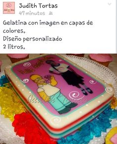 Gelatina en capas