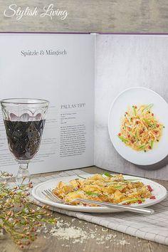 Käsespätzle von Tim Raue mit Weintipp von Paula Bosch