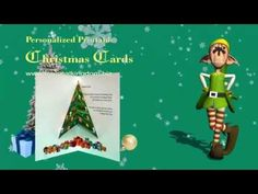 3D Popup Christmas Tree Card Tutorial