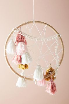 Anthropologie Tasseled Dream Catcher #ad #AnthroFave #AnthroRegistry Anthropologie