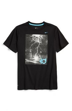 54a28ea91c Boy s Nike  KD Hero  Dri-FIT Graphic T-Shirt Boys ...