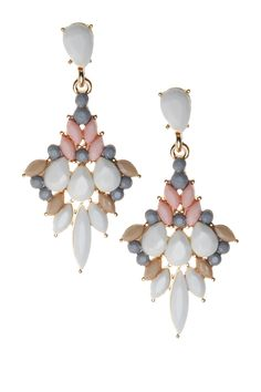 My Style Earrings Dangle Layered Jewelry Glitz And Glam Preppy Dangles