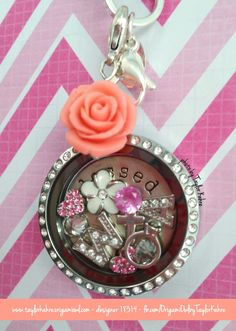Origami Owl Living Lockets Custom Jewelry - My Personal Locket, Blessed taylorkahre.origamiowl.com fb.com/OrigamiOwlbyTaylorKahre designer 18314