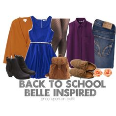 """""""back to school Belle"""" by wishingadream on Polyvore"""
