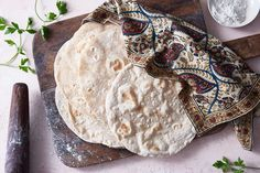 Aren't tortillas always made from corn or wheat? Actually, flatbreads made withall kinds of foraged grain were the first breadshumansate. These original breadswere so good,in fact,thatthey inspired the cultivation of crops, changing history forever. Just like our ancestors, we're using a mix of grains in this tortilla recipe: rye brings tenderness and a gentle natural sweetness, while all-purpose flour adds strength, making the dough easy to handle and the resulting tortillas sturdy… Mexican Food Recipes, Ethnic Recipes, Mexican Dishes, Diabetic Recipes, Rye Flour, King Arthur Flour, Pastry Blender, Latin Food, Cookies