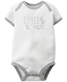Carter's Baby Boys' Little Peanut Bodysuit - Kids & Baby - Macy's