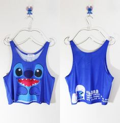 Ohana Means Family Crop Tank Top From Shop Kollage. Can I have it?