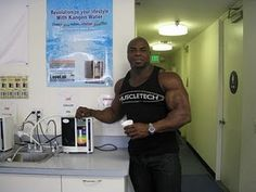 Tony Freeman...another proud Kangen Water owner. www.aquamiracles.com