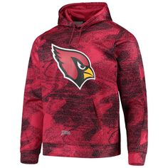 Arizona Phoenix Sport Teams Fan Combined Logo Mashup Mens Sweatshirt Grey Hoodie