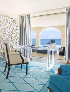 Geoffrey Bradfield Interior Design | La Dacha, Lesser Antilles