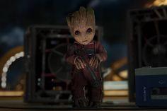 Baby Groot e muita música no novo trailer de Guardiões da Galáxia Vol. 2