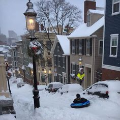 Boston after 2015 blizzard - Worst winter ever! New Hampshire, Beautiful World, Beautiful Places, New England States, In Boston, Boston Strong, Winter Magic, Winter Scenery, Christmas Scenes