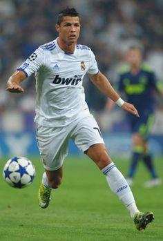 Cristiano Ronaldo in Real Madrid Jersey