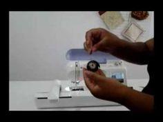 Aprenda a limpar sua máquina de bordar Brother PE-770 - YouTube