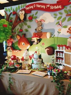 Woodland Birthday Party Ideas   Photo 4 of 9   Catch My Party