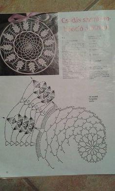 Best 12 Mandala patron We are want to say thanks if you like to sh Filet Crochet, Mandala Au Crochet, Crochet Doily Patterns, Crochet Diagram, Thread Crochet, Irish Crochet, Crochet Doilies, Crochet Stitches, Knit Crochet