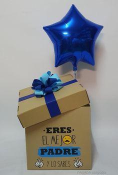 Regalo para papá, caja sorpresa Diy Father's Day Gifts, Father's Day Diy, Fathers Day Gifts, Diy Birthday, Birthday Gifts, Ok Design, School Notes, Coke, Projects For Kids