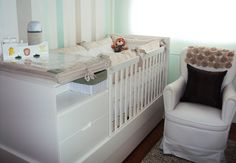 Arquitetos dão dicas de como decorar quartos pequenos - Bebê.com.br Baby Bedroom, Baby Boy Rooms, Nursery Room, Girl Nursery, Kids Decor, Home Decor, Decor Ideas, Nursery Design, Kids House
