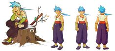 Breath of Fire IV - Ryu Concepts