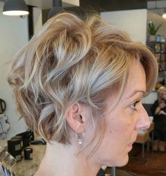 Short Tousled Hairstyle For Thick Hair More