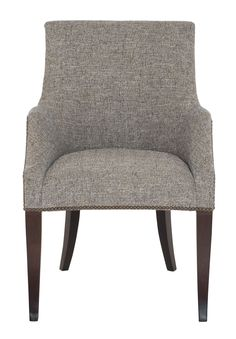 Dining Chair | Bernhardt Dining Arm Chair, Dining Room Chairs, Dining Rooms, Lounge Chairs, Belfort Furniture, Leather Counter Stools, Bernhardt Furniture, Contemporary Dining Chairs, Chair Fabric