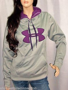 Under Armour Womens Fleece Storm Big Logo Intensity Hoodie