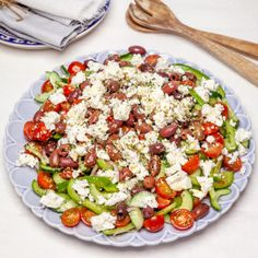 Halloumi, Oliver, Cobb Salad, Lunch, Snacks, Lunches, Treats, Finger Foods, Appetizers