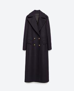 Imagem 8 de LONG COAT da Zara