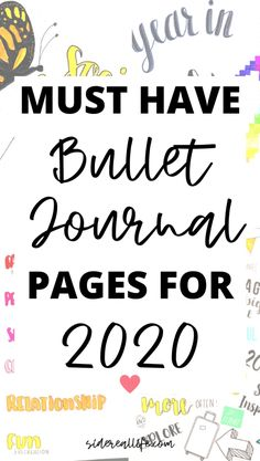 Bullet Journal Yearly, Types Of Bullet Journals, Bullet Journal For Beginners, Bullet Journal Layout, Bullet Journal Ideas Pages, Bullet Journal Inspiration, Journal Pages, Brain Dump Bullet Journal, Bujo