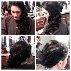 Vintage side style #jewellclip #hairbyjewells