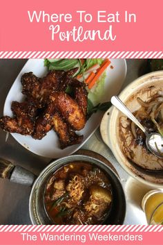 Because Portland is a foodie city, a question that's often asked is where to eat when visiting. This is a great guide of where to eat in Portland and includes Salt & Straw, VooDoo Doughnuts, Pine State Biscuits, Pok Pok, Food Carts, Olympia Provisions, and Le Pigeon.: