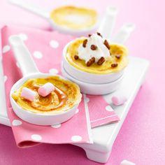 Crêpes caramel chantilly