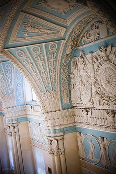 Interior of The State Hermitage Museum, Saint Petersburg, Russia