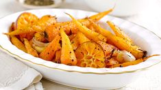 Roasted garlic & clementine carrot image