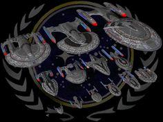 Star Trek Armada II Future Wars Federation Fleet Render Picture by Frankie