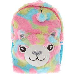 Multicoloured Plush Llama Backpack - Books   Learning - Toys - Kids   Toys 7ffa45e51
